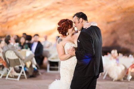Willowbrook Amphitheater Wedding Reception First Dance