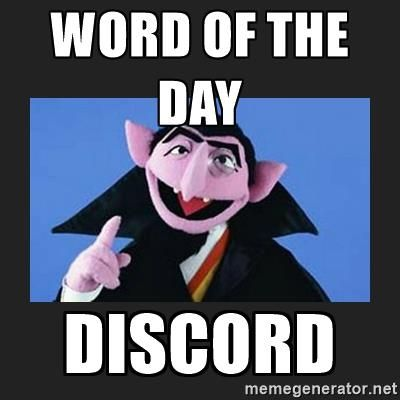 The Count From Sesame Street Word Of The Day Discord Sesame Street Counting Moving Memes