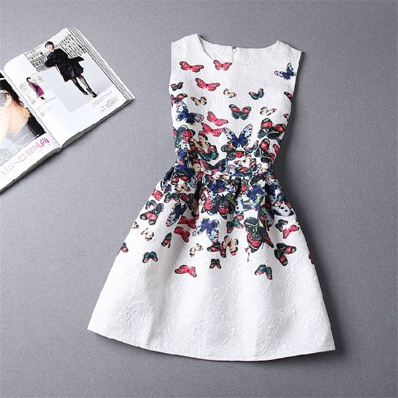 $10.00 (Buy here: https://alitems.com/g/1e8d114494ebda23ff8b16525dc3e8/?i=5&ulp=https%3A%2F%2Fwww.aliexpress.com%2Fitem%2FGirl-Dresses-Teen-Summer-2016-New-Casual-Sleeveless-Flora-Printed-Kids-for-Girls-Clothes-Party-Princess%2F32710466239.html ) summer flower girls party dress Teens Casual Sleeveless Floral Dresses European Style Party Dresses Long Sleeve Clothing for just $10.00