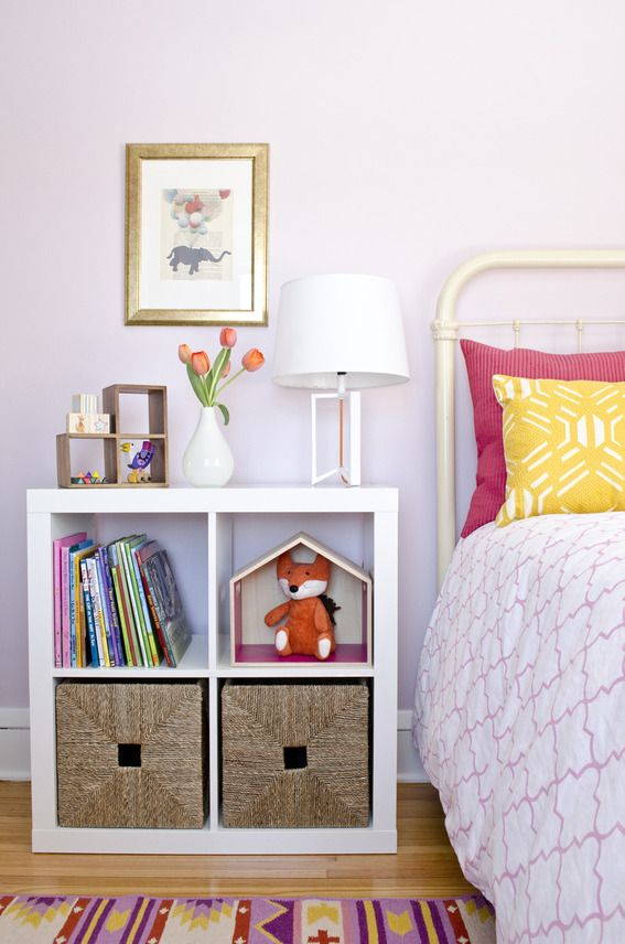 a perfectly purple little girl 39 s room makeover. Black Bedroom Furniture Sets. Home Design Ideas
