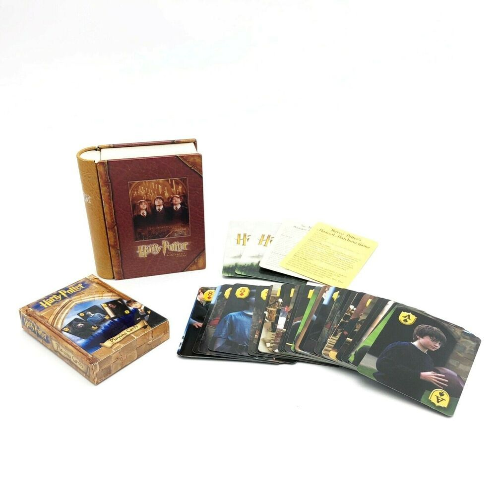 Harry potter the sorcerers stone playing cards game