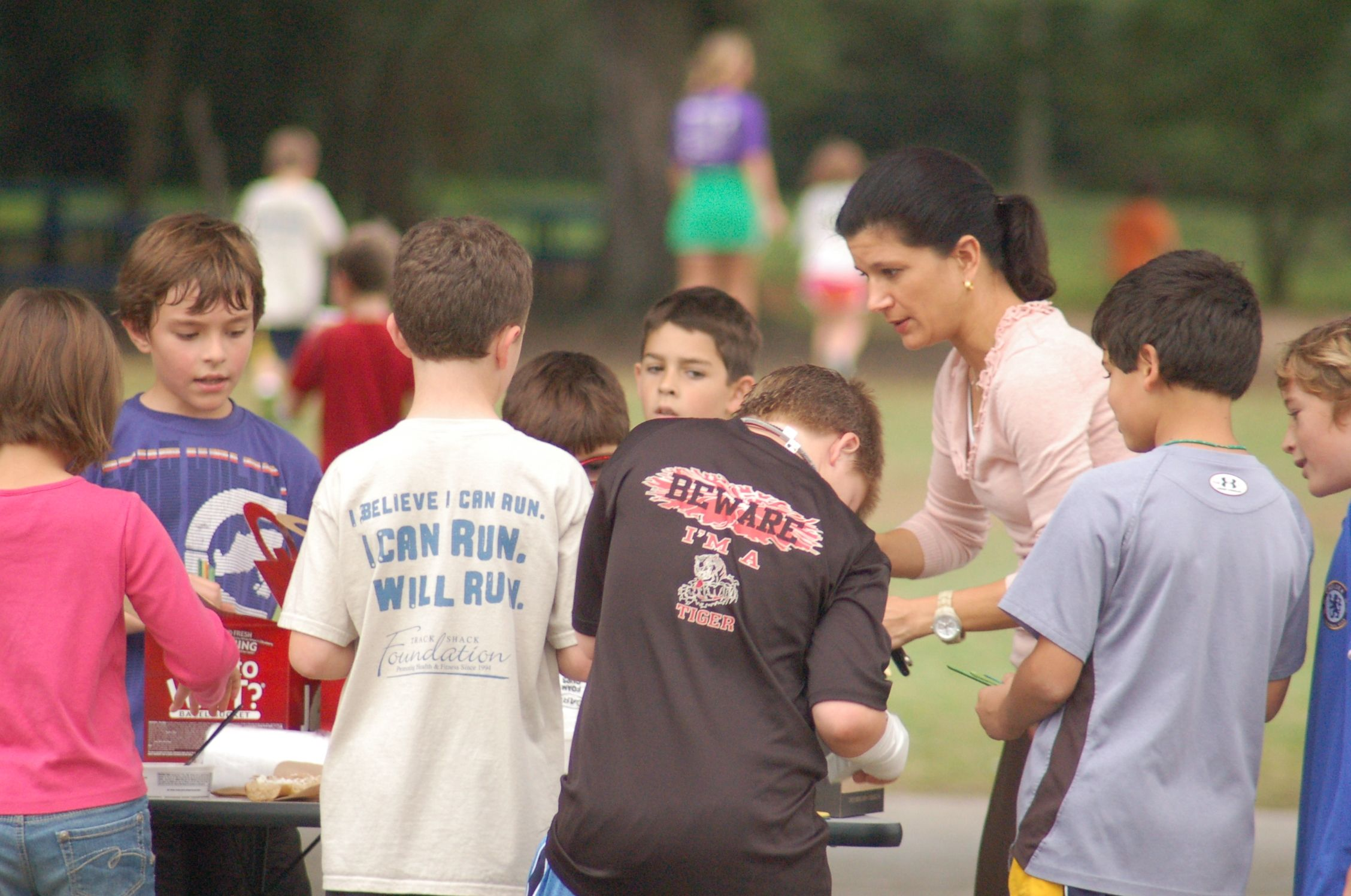 Dommerich Elementary Running Tribe