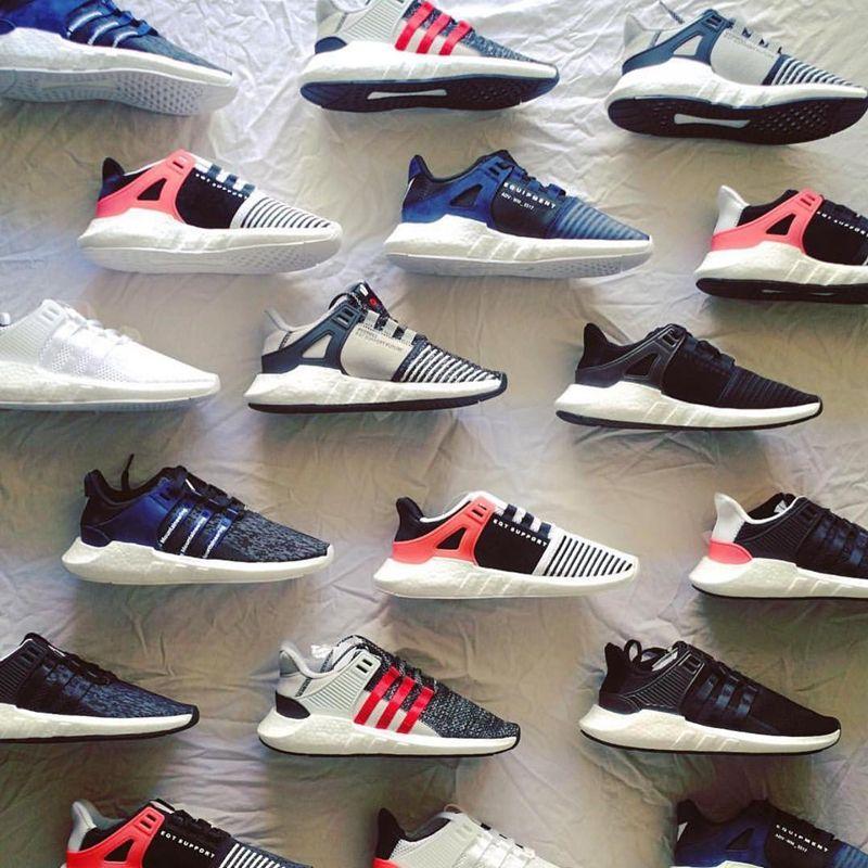 adidas eqt nero / bianco / turbo appoggio avanzata rosso smthng pinterest