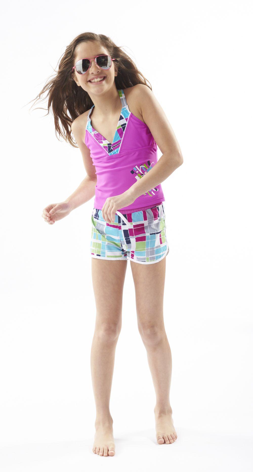 decc41901a8b5 Surfer cool! #girls #swim #Kohls | cute thangs | Girls swimming ...