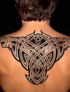 3711e7d5f 3D Back Bone Tribal Tattoos Designs For Men   Cool Tattoos Design ...