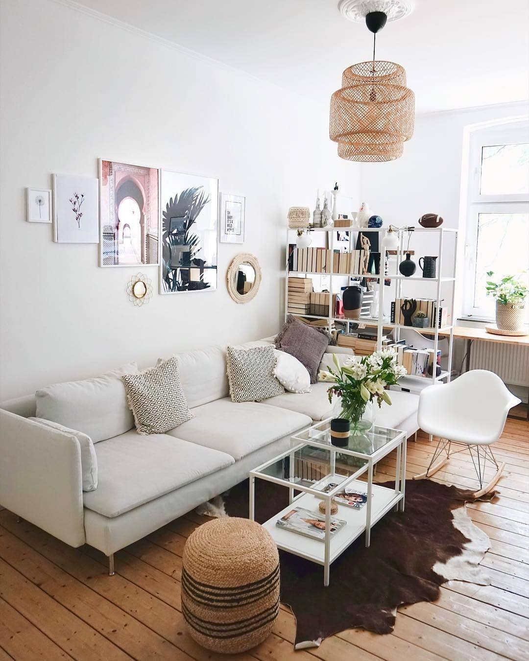 ländlich schicke wohnzimmermöbel wandfarbe decoaccesoires perfekt eingesetzt wir haben uns in das wohnzimmer von kathastrophal verkuckt solebich repost wohnzimmerliebe