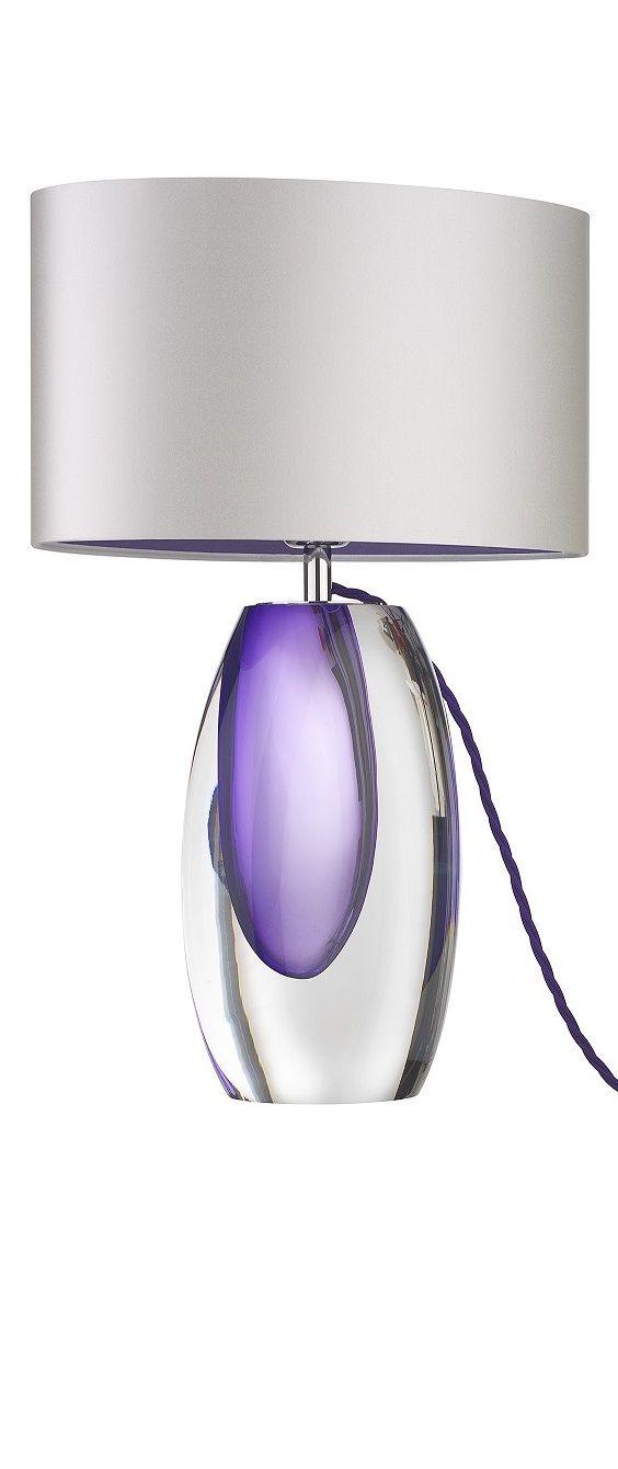 Purple Lamp Purple Lamps Lamps Purple Lamp Purple Lamp Lamps Modern Lighting Bedroom Lighting Purple Table Lamp Purple Living Room Purple Lamp