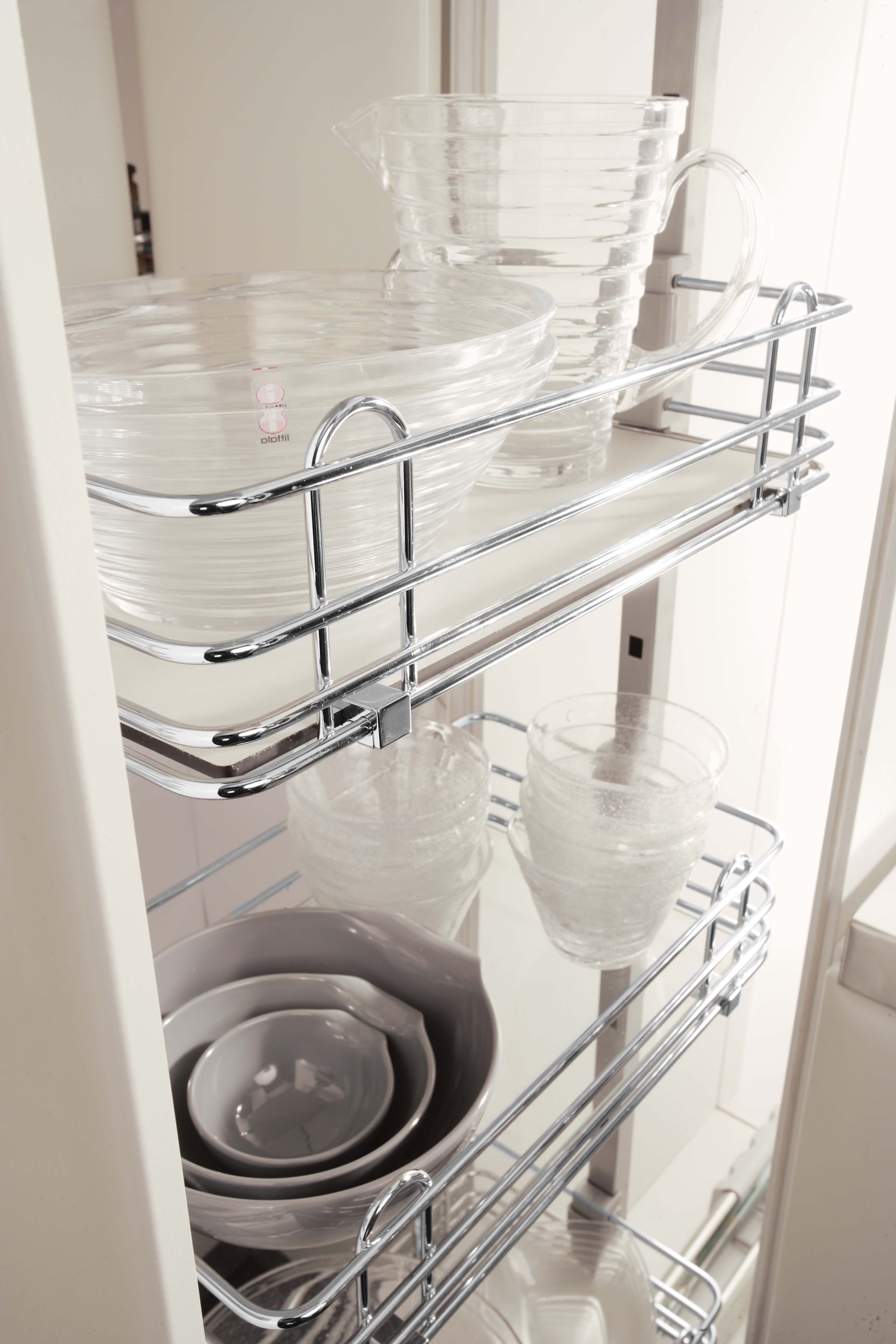 i510 030 300mm soft universal side mount pull out kitchen storage rh pinterest com