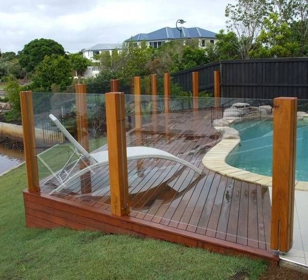 10 Most Beautiful And Budget Friendly Pool Fencing Ideas Decks Around Pools Cheap Pool Glass Pool Fencing