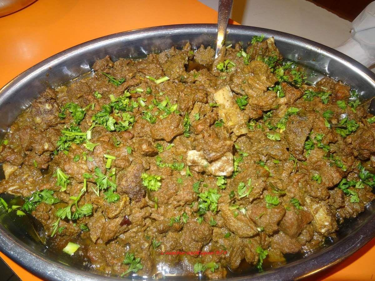 Ma recette de cabri massal cuisine cr ole pinterest recette piment oiseau et cuisine - Cabri massale cuisine reunionnaise ...