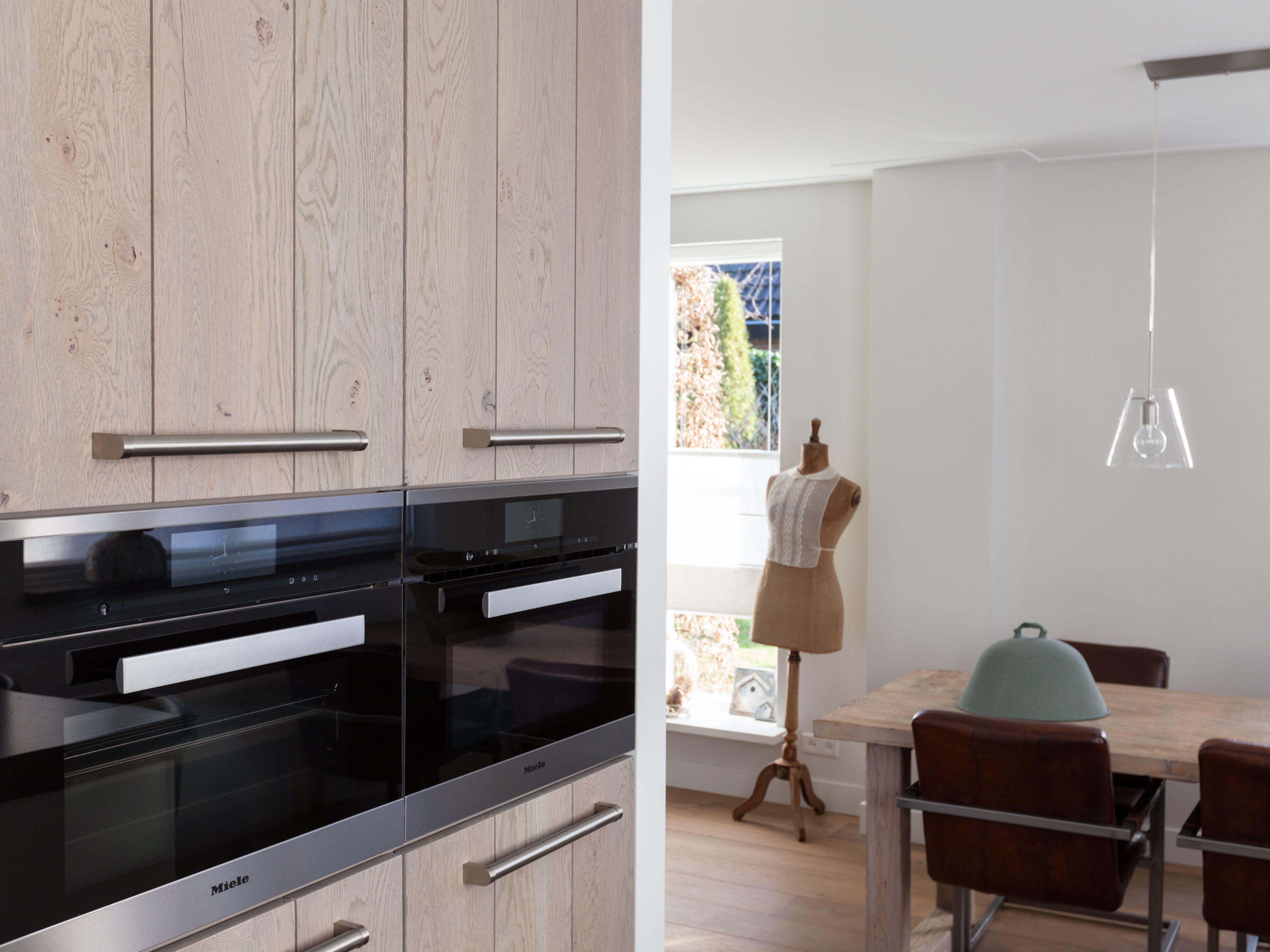Deze keuken is een mooi voorbeeld van interieur wat zich qua stijl