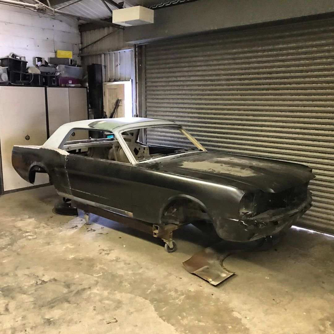 Scm England On Instagram 65 Coupe Getting Some Love And New Sheet Metal Scm Specialises In Custom Metal Fabrication Mustang Restoration Restoration
