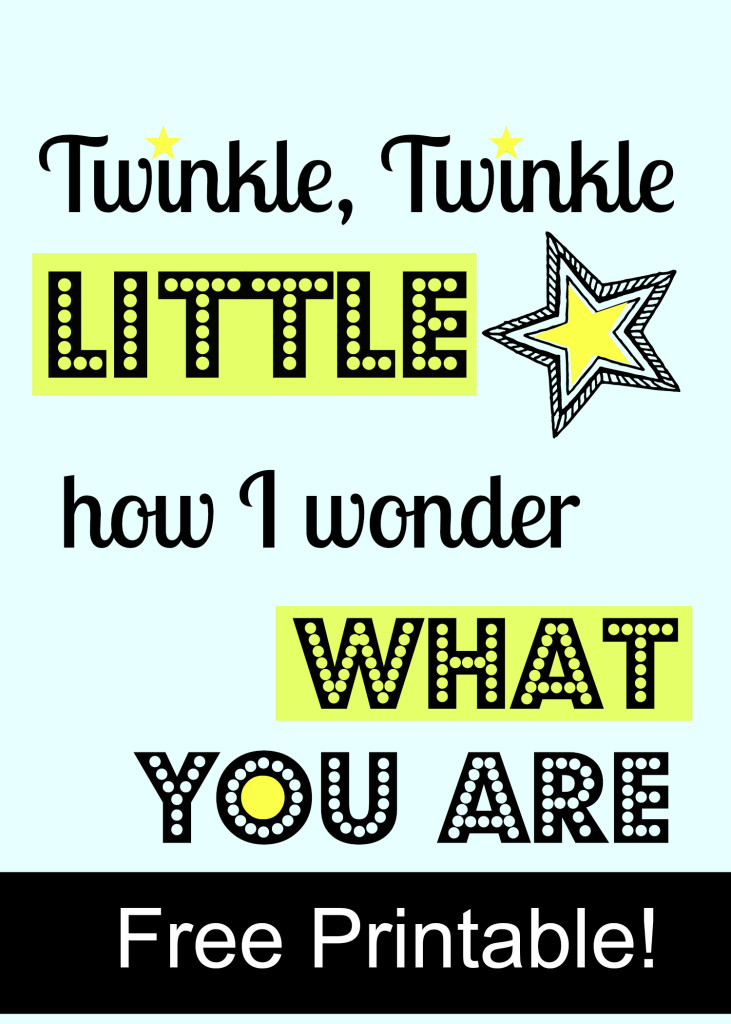 Free Twinkle Twinkle Little Star Printable Quilt Labels Free Printables Art Wall Kids