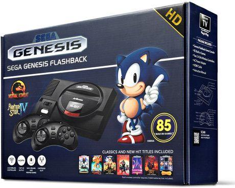 Atgames Sega Genesis Flashback Gaming Console (85 Games