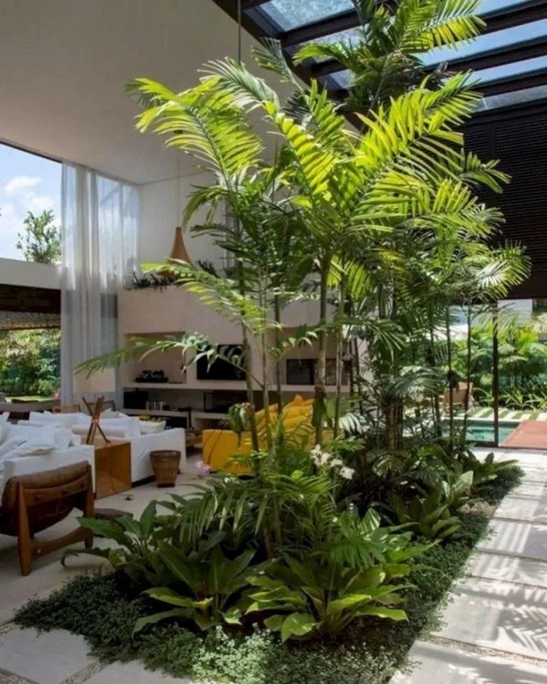 21 Indoor Garden Ideas You Will Fall In Love 10 Indoorgarden Gardenideas Indoorplants Ideas Hasinfo Garden Architecture Interior Garden Indoor Courtyard