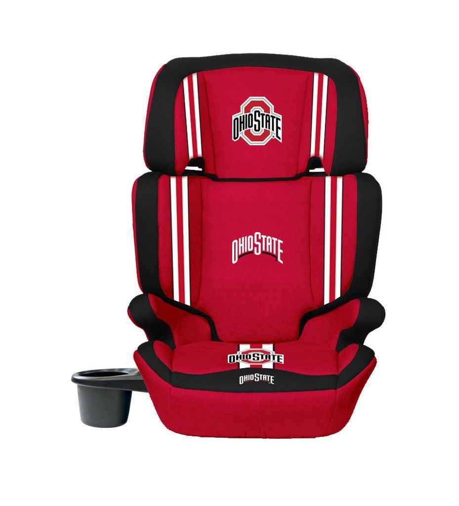 Ohio State Buckeyes Convertible High Back Booster Car Seat