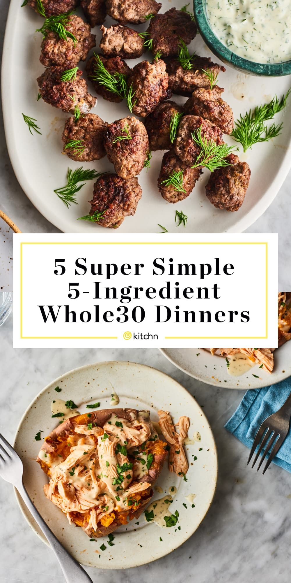 Photo of 5 Satisfying Whole30 Dinners You Can Make with 5 Ingredients