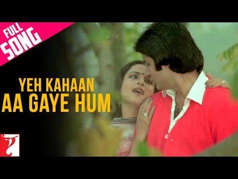 Tere Bina Jiya Jaye Na Lata Mangeshkar Rekha Ghar Romantic Song Youtube Romantic Songs Songs Romantic Love Song