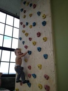 children love to climb building them an indoor kids rock climbing wall is a great way to let. Black Bedroom Furniture Sets. Home Design Ideas