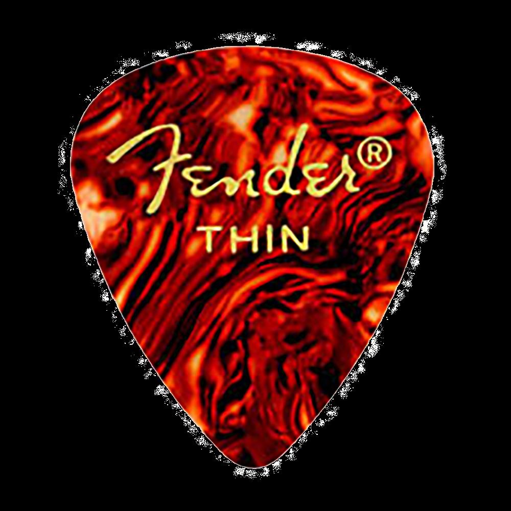 Fender 351 Shape Premium Thin Picks