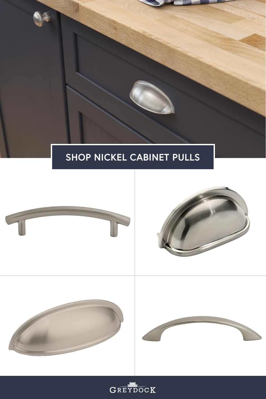 Satin Nickel Cabinet Hardware Pulls Bin Cups Drawer Handles Cabinet Hardware Cabinet Pull Drawer Handles [ 1500 x 1000 Pixel ]