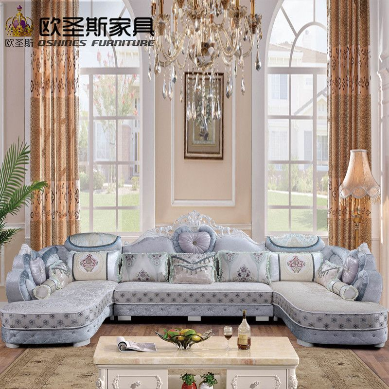 Swell Luxury U Shaped Sectional Living Room Furniutre Antique Machost Co Dining Chair Design Ideas Machostcouk