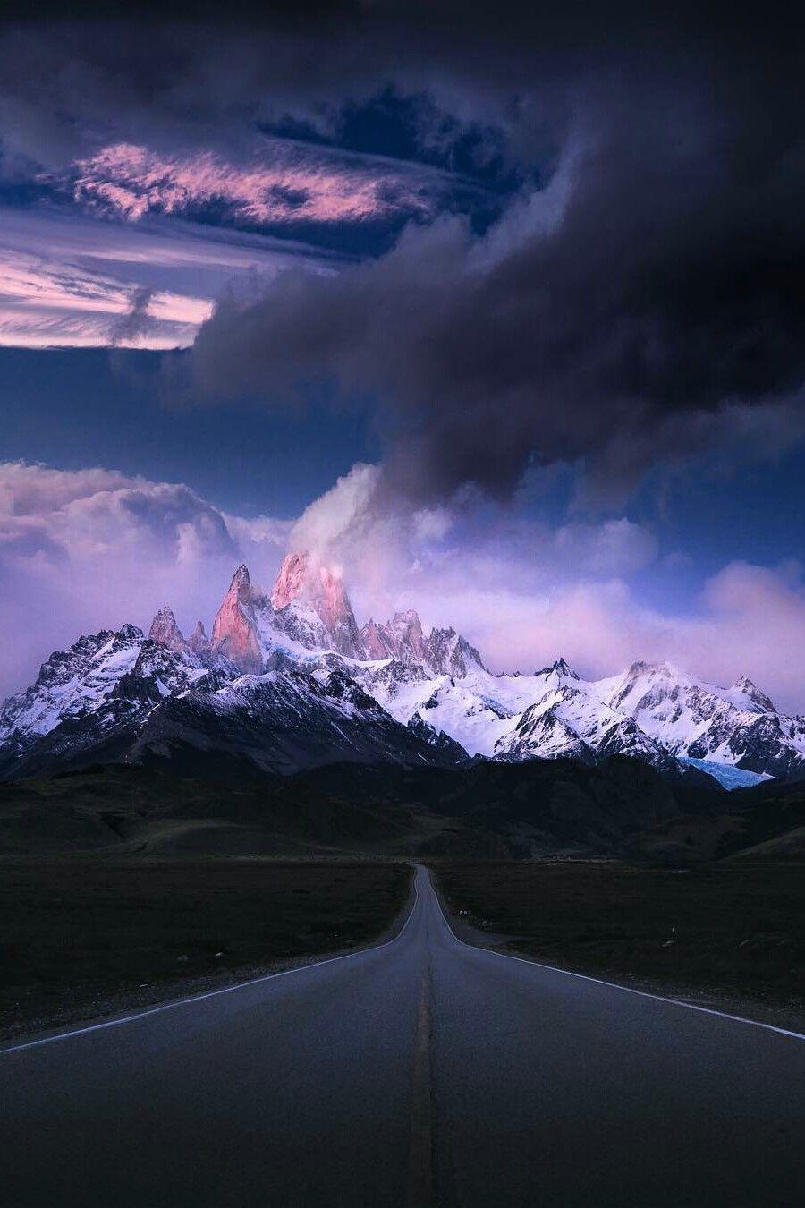 Empty road on the way to El Chalten | Empty road, Landscape photographers,  Landscape