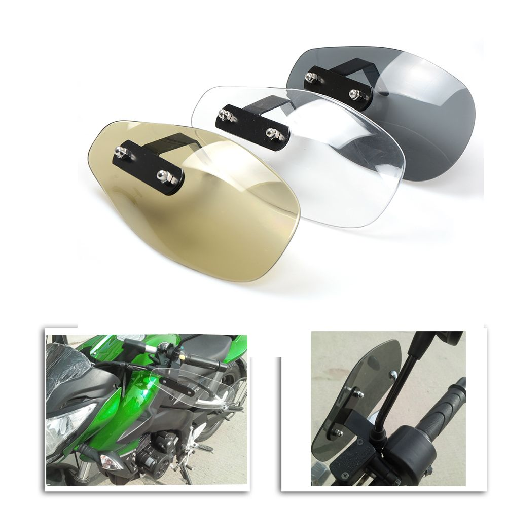 Rearview mirror bracket R Pair Adapter bracket set Rearview Mirrors 10mm screws on handlebars Motorcycles and scooters SODIAL