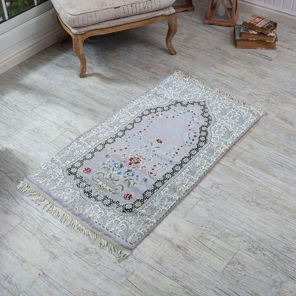 سجادة صلاة فوم منقوش لون رصاصي Bohemian Rug Rugs Carpet