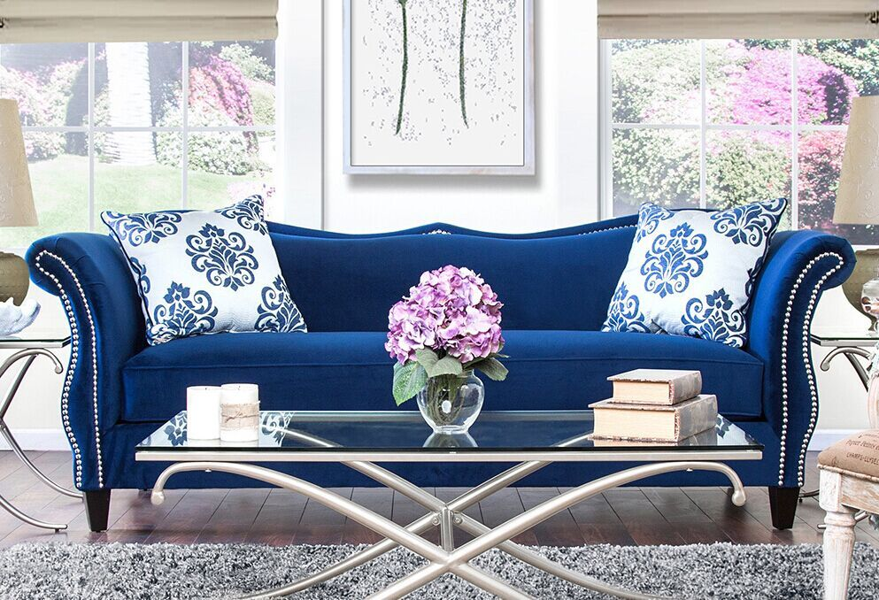 Attirant Awesome Blue Sofa Set , Beautiful Blue Sofa Set 87 About Remodel Small Home  Decoration Ideas
