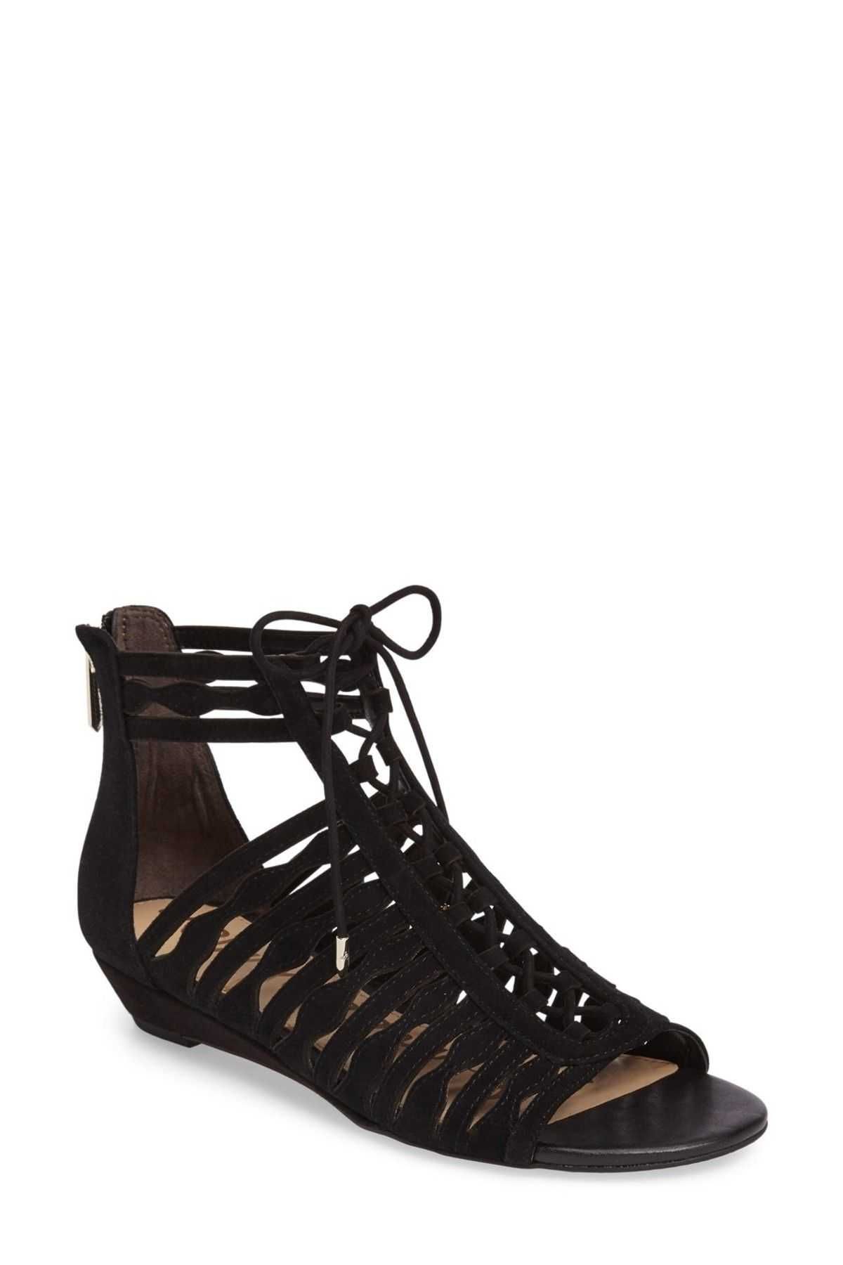 a442e4000 Image of Sam Edelman Daleece Lace-Up Sandal