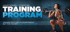 Fitness 360: Ashley Horner - Training Program - Fitness Forward! #Ashley #Fitness #Horner #Program #...