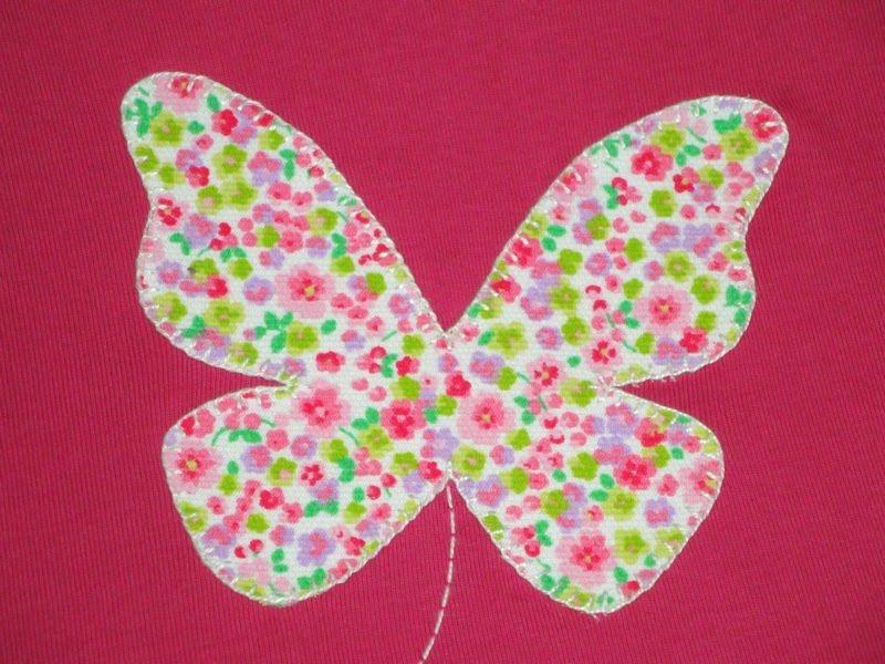 Mariposa en tela buscar con google decorando for Aplicaciones decoradas