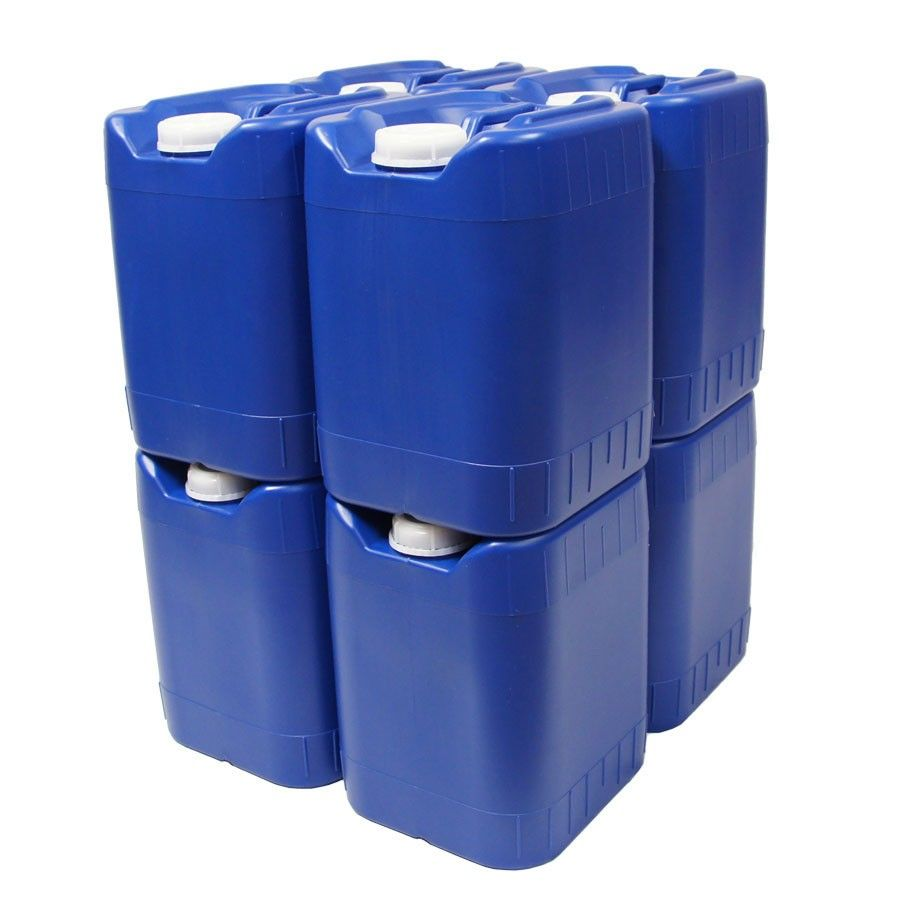 These stackable water storage containers are a great way to be prepared for an emergency. Instead of bulky barrels or tanks these sturdy ...  sc 1 st  Pinterest & 40-Gallon Stackable Water Container Kit - 8 Qty | Food Storage ...