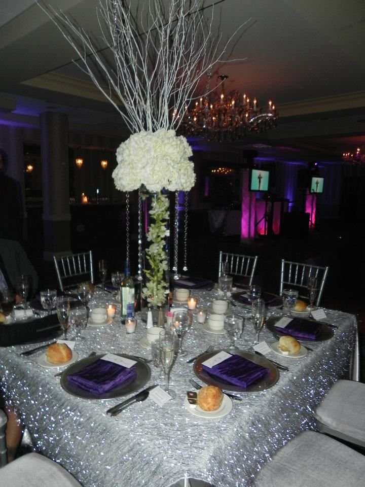 We chose high centerpieces even though there was a low ceiling we chose even though there was a low ceiling wedding centerpieces junglespirit Images