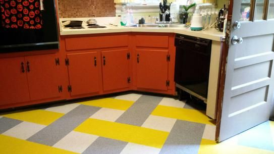 Armstrong Imperial Texture Vct 12 In X 12 In Lemon Lick Standard Excelon Commercial Vinyl Tile 45 Sq Ft Case 57509031 The Home Depot Vinyl Tile Luxury Vinyl Plank Flooring Kitschy Kitchen
