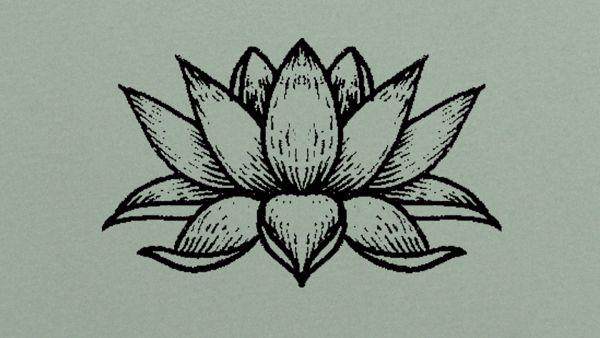 Flower Child Line Drawing : ॐ flower child with a rock n roll heart illustrations