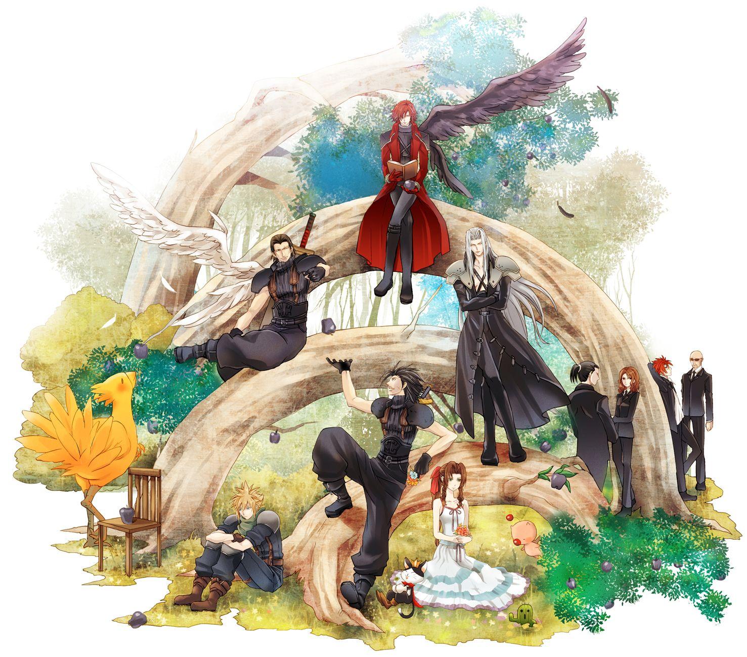 Final fantasy 7 fan art cerca con google videogames - Cloud strife fanart ...