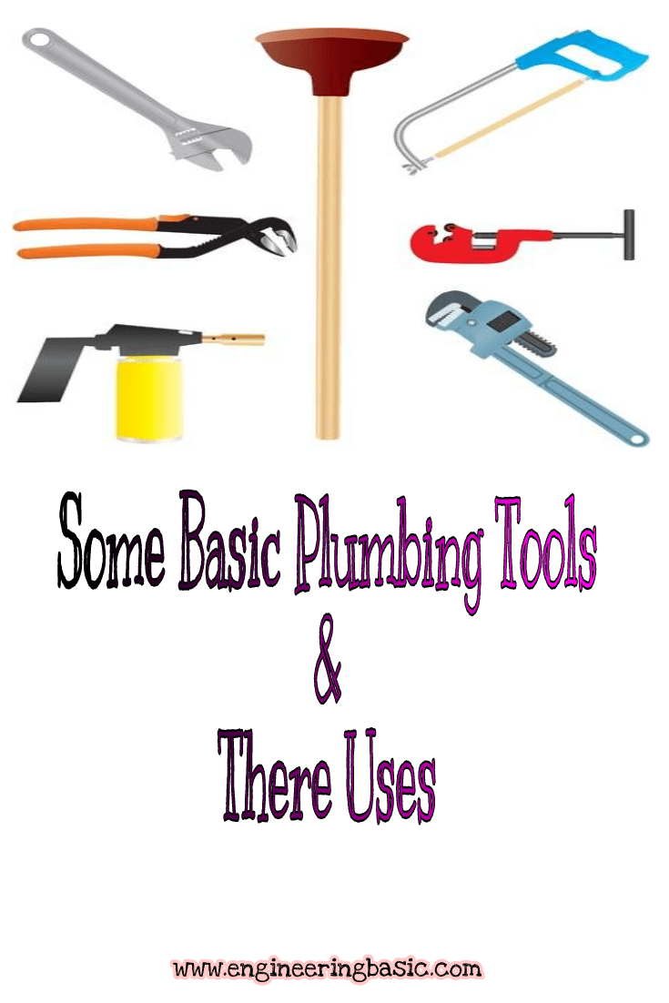 Some Basic Plumbing Tools And Their Uses Blogging Pros Group Board