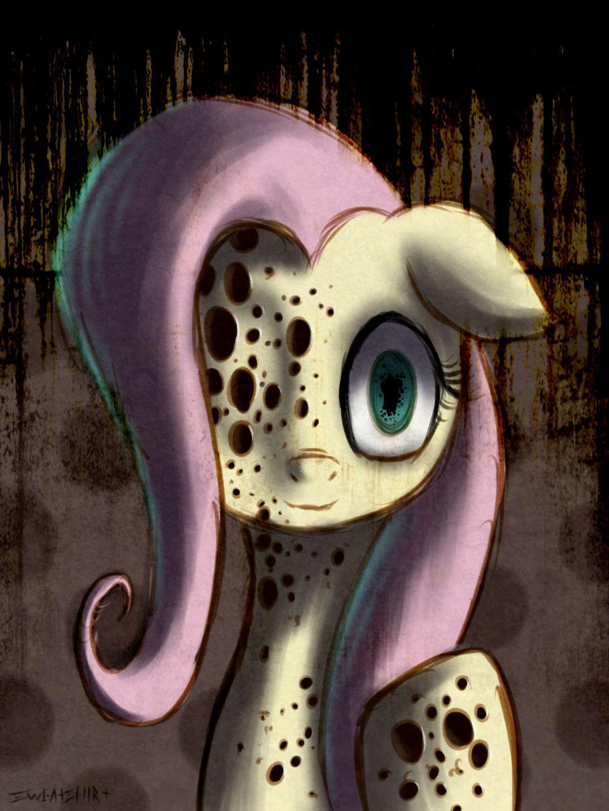 Grimdark Fluttershy Mlp My Little Pony Pony My Little Pony