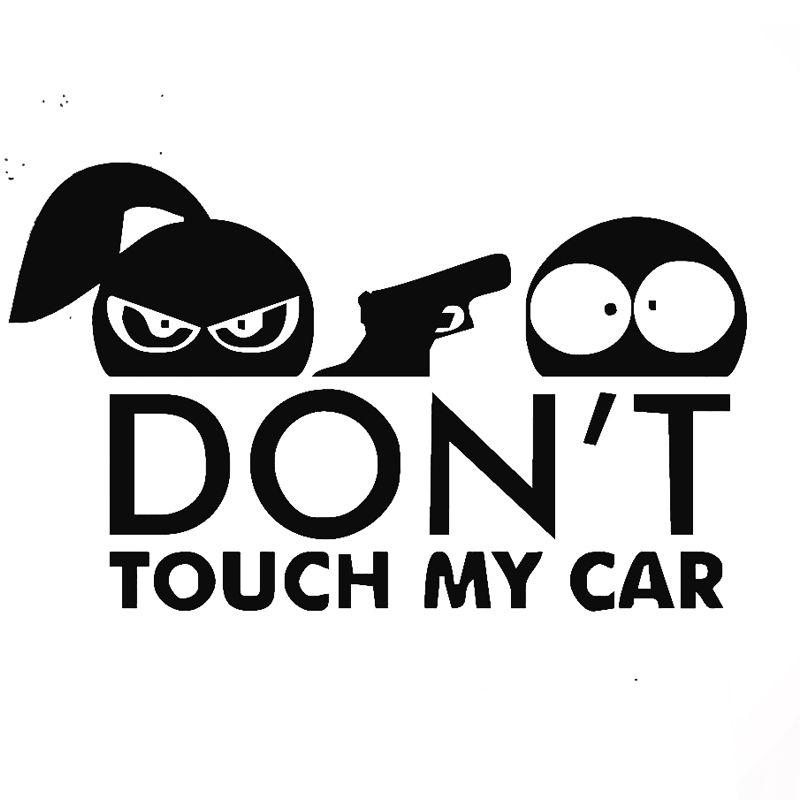 Wholesale Pcslot Pcslot DonT Touch My Car Vinyl Decal - Vinyl decals for my car
