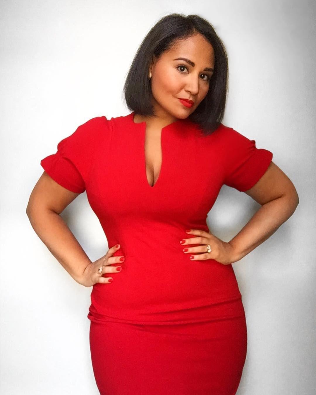 Alejandra Ramos Alwaysalejandra Dream Of A Red Dress By Blackhalostyle Perfect For Curvy Figures Dresses Fashion Curvy Fashion [ 1349 x 1080 Pixel ]