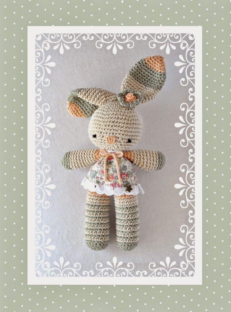 patrón-conejo-a-crochet | Amigurumis | Pinterest