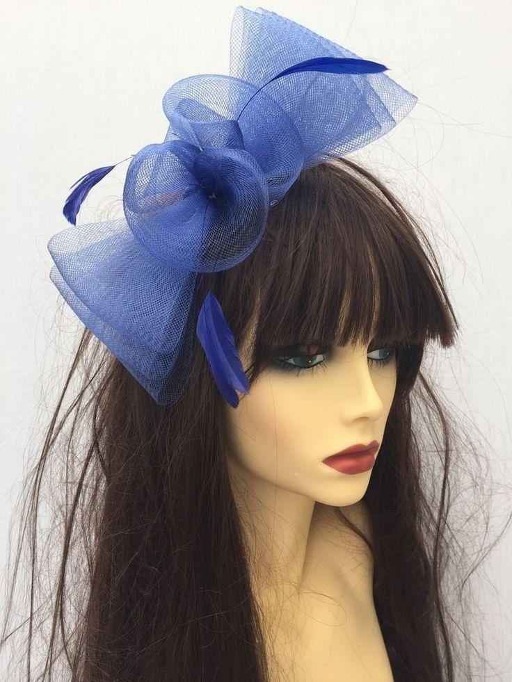 Blue Fascinators For Weddings  d3f699e2a3c