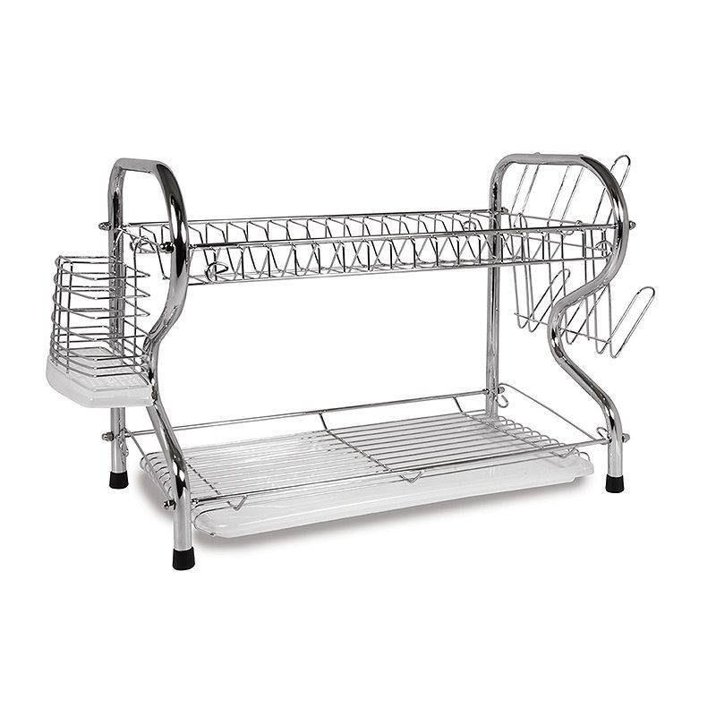Better Chef 16 Inch 2 Level Dish Rack With Images Dish Racks