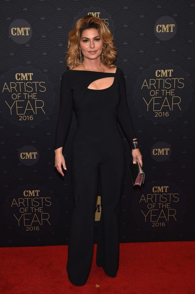 shania twain 2016 SHANIA TWAIN at CMT Artists of the