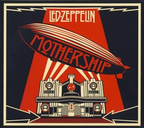 Led Zeppelin Mothership Cover Capas De Albuns De Rock Led