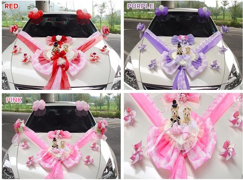 New Wedding Doll Car Decoration Kit Bridal Decor Supplies