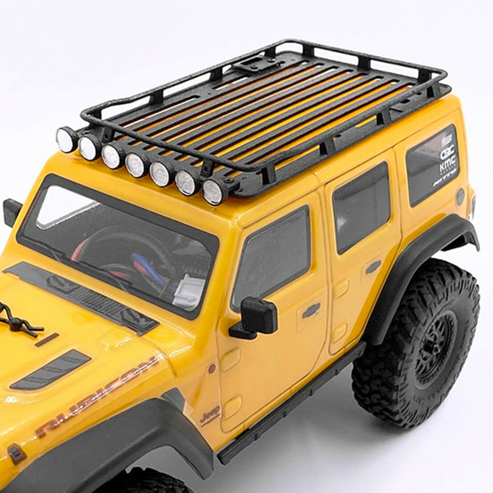 For Axial Scx 24 1 24 Rc Car Truck Buggy Roof Rack Luggage Spotlights Ladder 603922676775 Ebay In 2020 Luggage Carrier Roof Rack Rc Cars For Sale