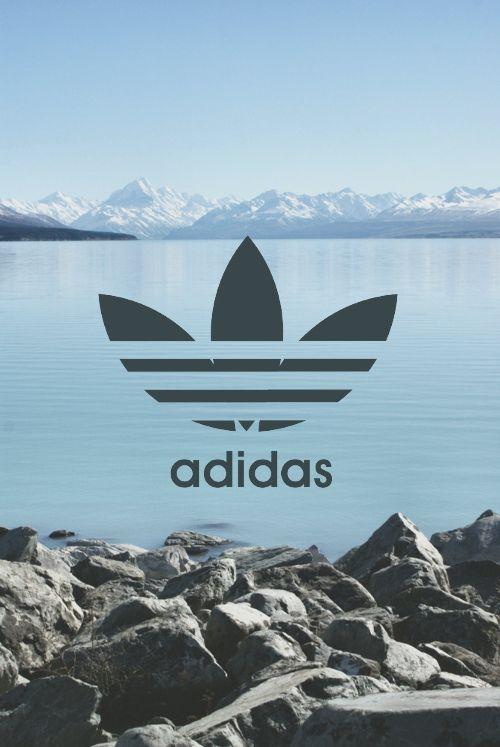 Image de adidas, wallpaper, and sea